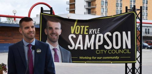 Sampson was biggest campaign spender