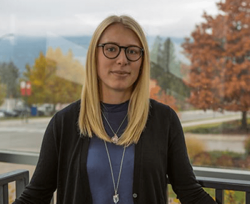 Michelle Thiessen is a clinical psychology graduate student and study lead author. UBC Okanagan photo