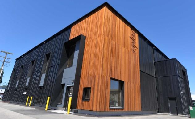 Wood Innovation Research Lab. UNBC photo
