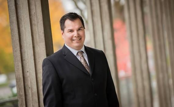 School trustee Trent Derrick