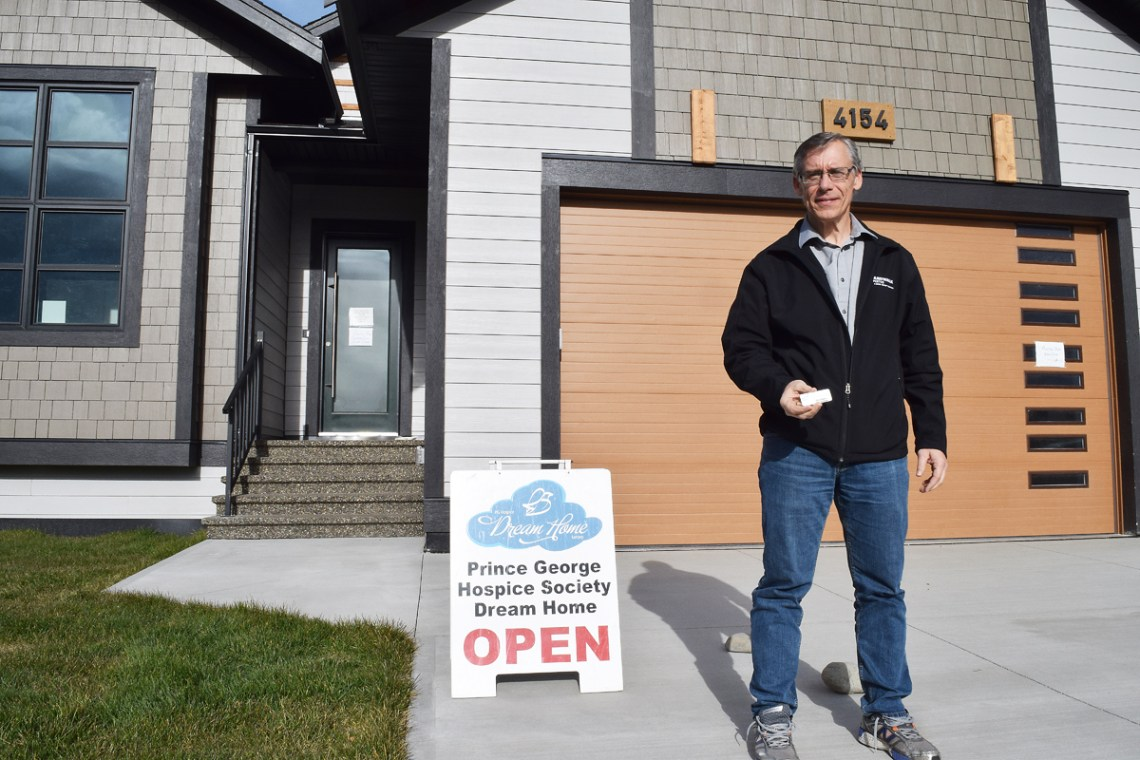 Ron Gallo, who was the lottery coordinator on the very first Hospice Dream Home Lottery, knows, firsthand, that buying your ticket at the last minute can pay off. Bill Phillips photo
