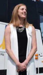 BC Transit Chief Executive Officer and President Erinn Pinkerton