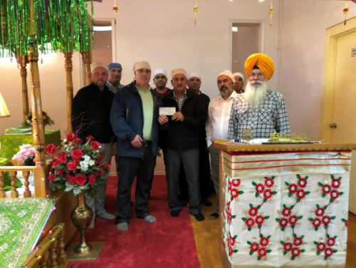 Quesnel's Cariboo Gur Sikh Temple Society donates to Spirit of the North