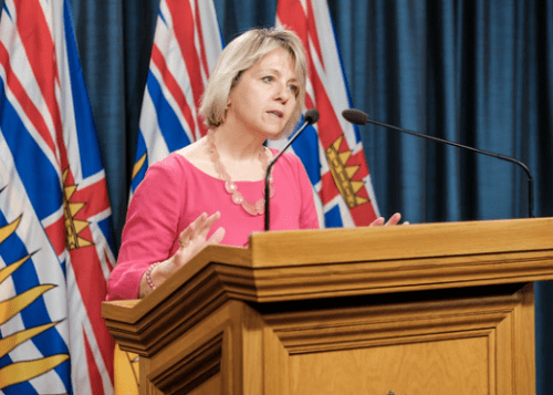 COVID-19: B.C. reports 446 new cases; 46 new cases in Northern Health area