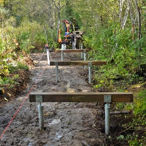 Ferguson Lake boardwalk gets an upgrade