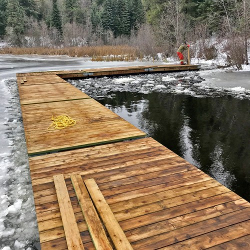 New dock at Forests For The World