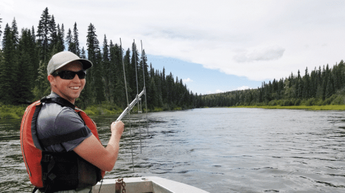 Grad student explores how often river otters eat young Nechako sturgeon