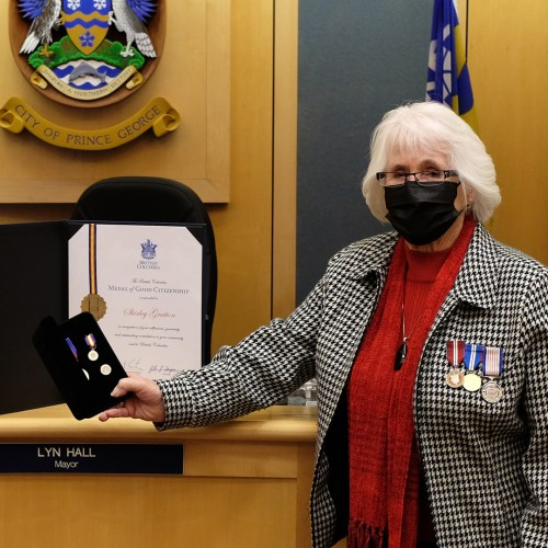 Gratton honoured for lifetime of volunteer service in Prince George