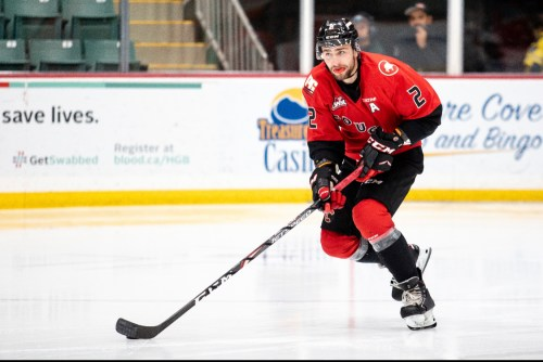 Spruce Kings add Cole Moberg – on loan from the Cougars