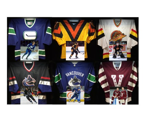 Hockey Hall of Fame raffling Canucks jerseys