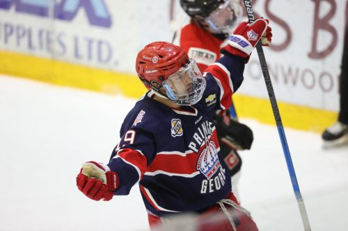 Buono nets hat trick as Spruce Kings blank Centennials 7-0