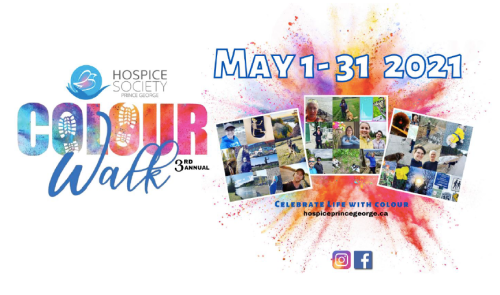 Hospice society's Colour Walk returns in May
