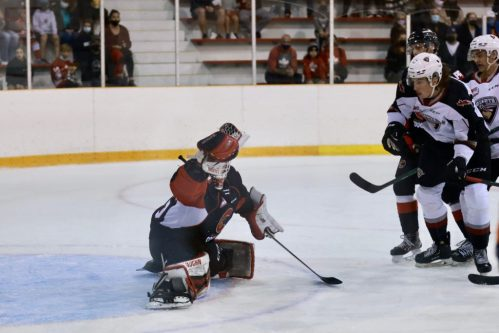 Cougars fall to Giants in chippy affair