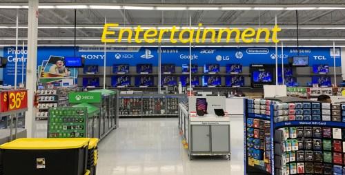 Walmart unveils $4 million renovatoin