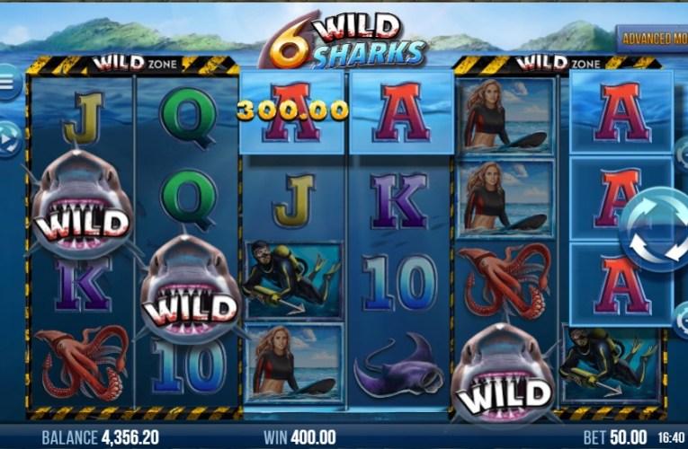 วิธีการเล่นเกมสล็อต 6Wild Shark เกมดังจาก IOS