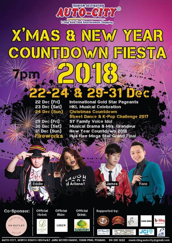 Autocity Chistmas & New Year Countdown