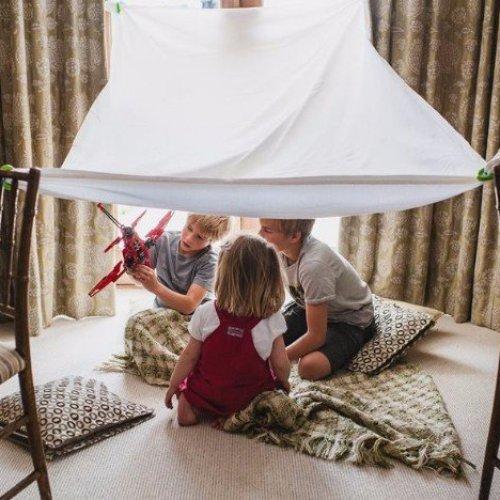 בונים אוהל