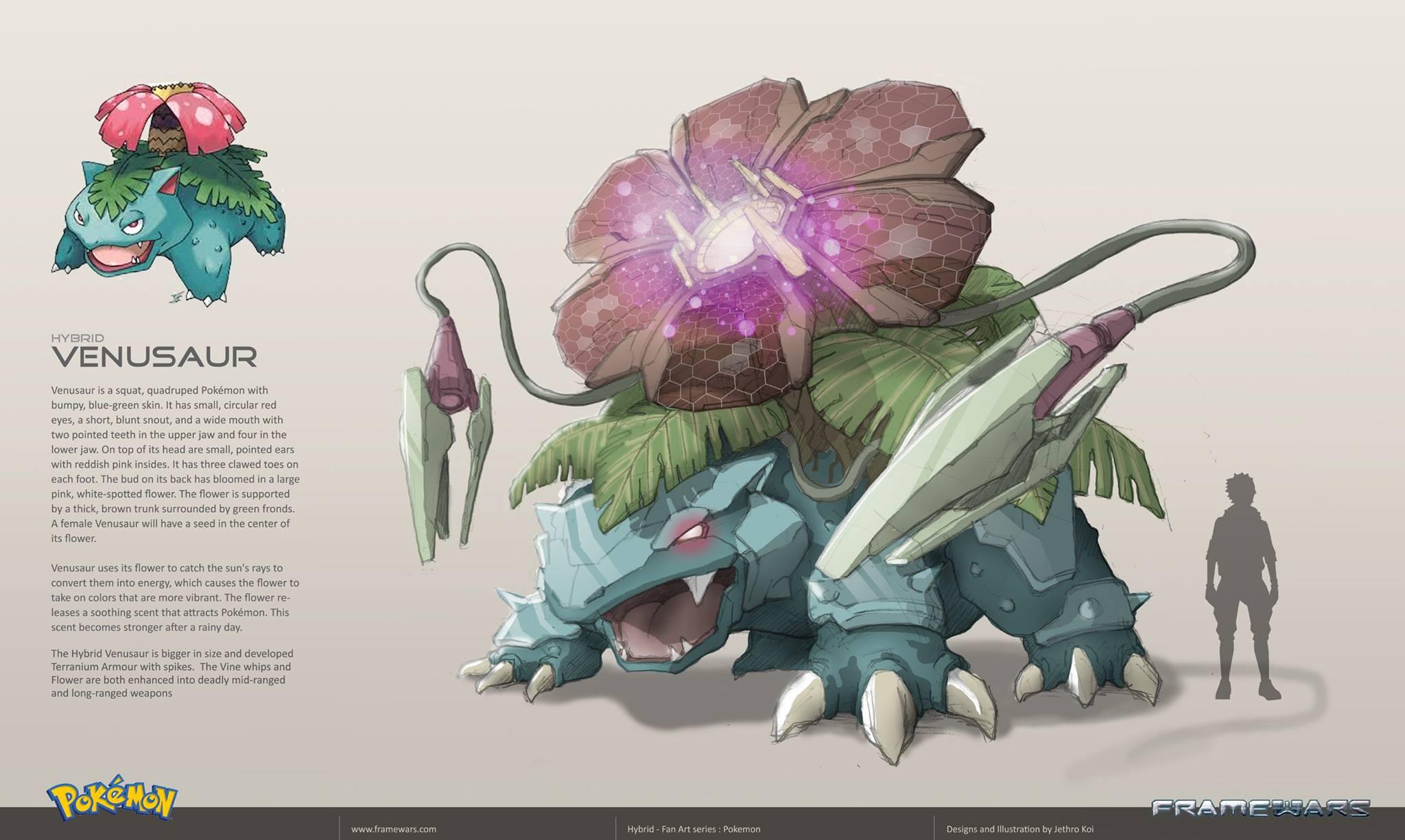 Pokemon Trainer Concept Art