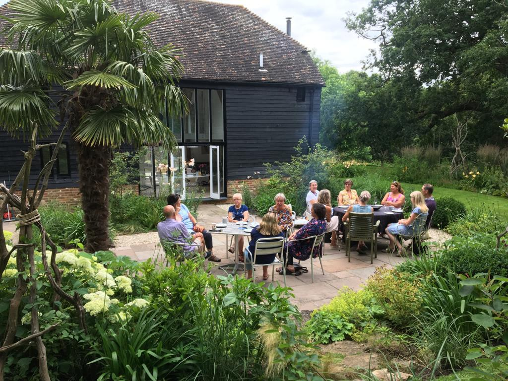 Evening visit to the Black Barn NGS garden, West Grinstead (15th July 2021)