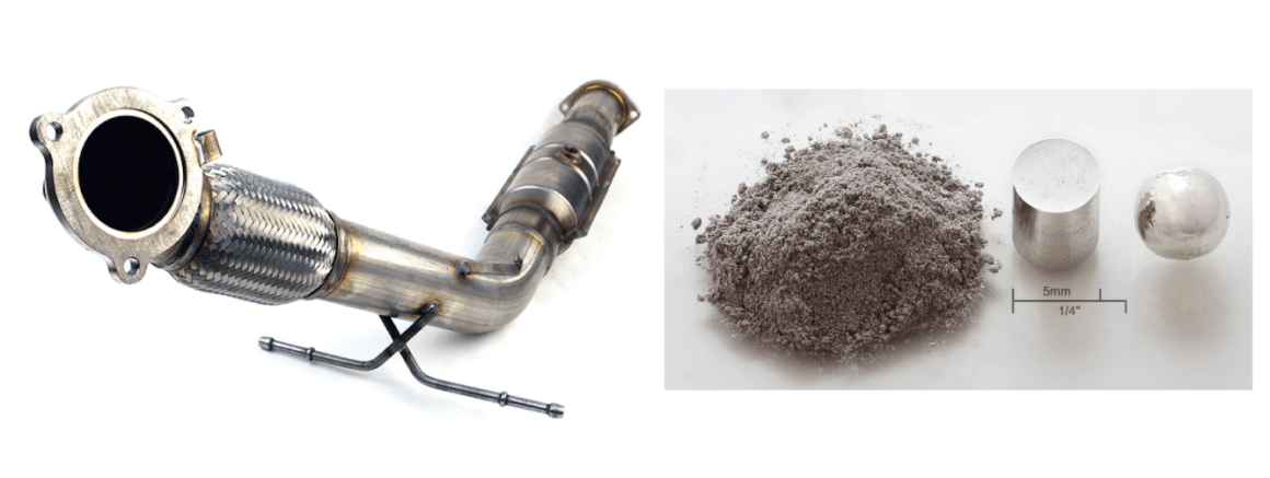 recycle catalytic converters