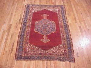 "Antique Persian Malayer rug, size 6'8"" x 4'1"", for sale with discount on the PGNY Outlet"