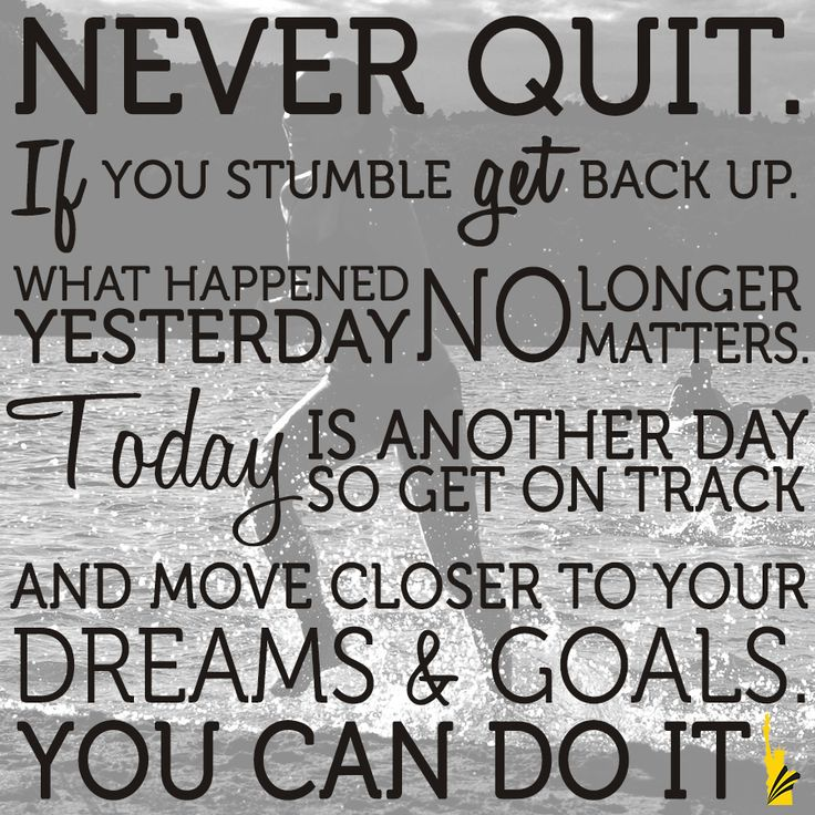 Image result for never quit if you stumble quote
