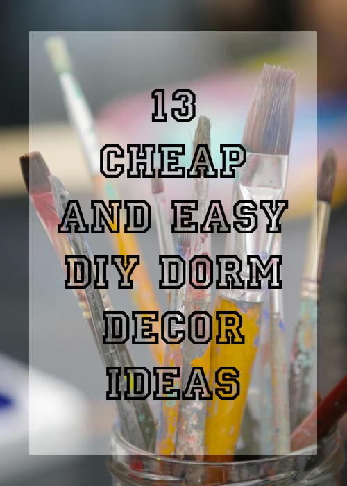 Cheap And Easy Decorating Ideas