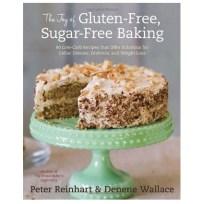 The Joy of Gluten-Free, Sugar-Free Baking cookbook.