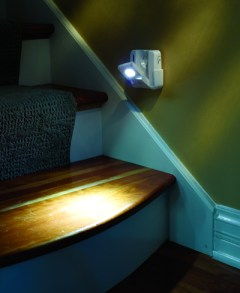A great gift idea for seniors is motion sensing staircase or hallway lights.