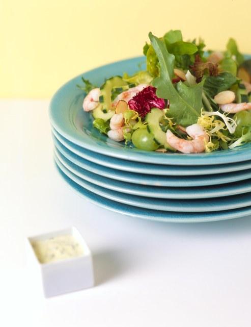 Dilled Shrimp and Grape Salad