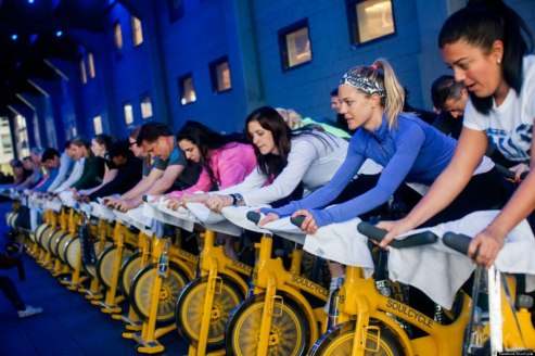 Soul Cycle is one of the nation's trendiest spin studios