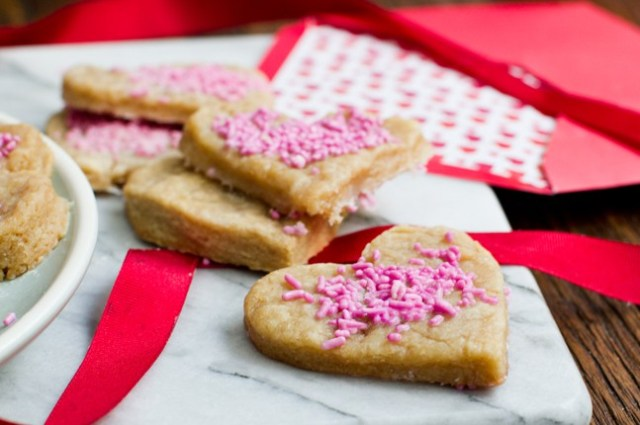 Valentines Day Sugar Cookies | Spryliving.com