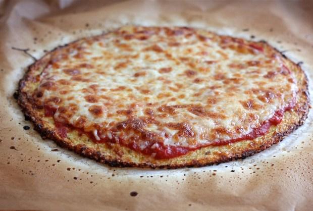 Cauliflower Pizza Crust | SpryLIving.com
