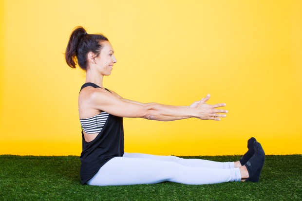 Seated Neutral Spine