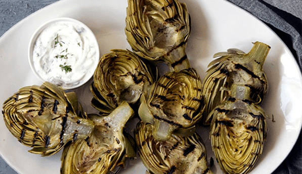 Grilled Artichokes | SpryLiving.com
