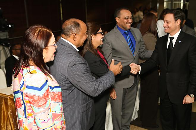 Rodríguez es recibido con alegría por fiscales y procuradores en la primera reunión de trabajo del Ministerio Público.