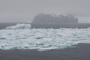 Icebergs of Antarctic Sound.