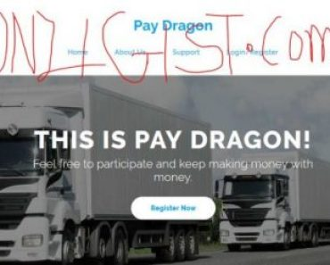PayDragon -Just Launch Ponzi Scheme with 100% return