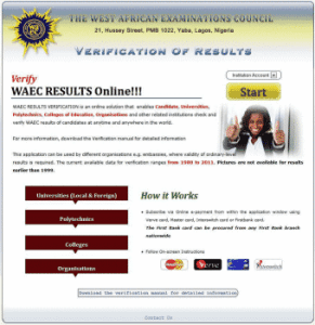 NYSC Verification Pin | How To Get WAEC Verification Pin For NYSC Date Of Birth Correction