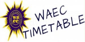 2018 WAEC GCE Examination Timetable For January/February First Series