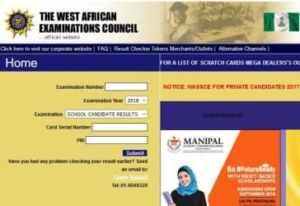 WAEC Results 2018 to Be Released Next Month