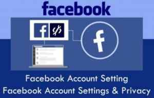 Facebook Account Setting | Facebook Account Settings Menu