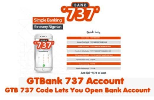 GTBank 737 Account - Power Of GTB *737# Code