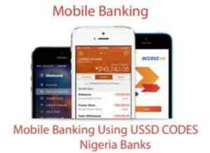Bank USSD Codes – Nigeria Mobile Banking Using USSD Codes