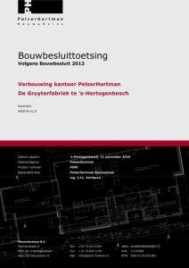 Voorbeeld bouwbesluittoetsing Bouwbesluit 2012