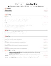 Resume Generator Json