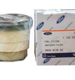 ford genuine fuel filter ab399176ac ab39 91 76ac for ford ranger  [ 1999 x 1326 Pixel ]