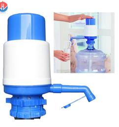 5 gallon bottled water drinking hand press manual pump dispenser [ 1500 x 1492 Pixel ]