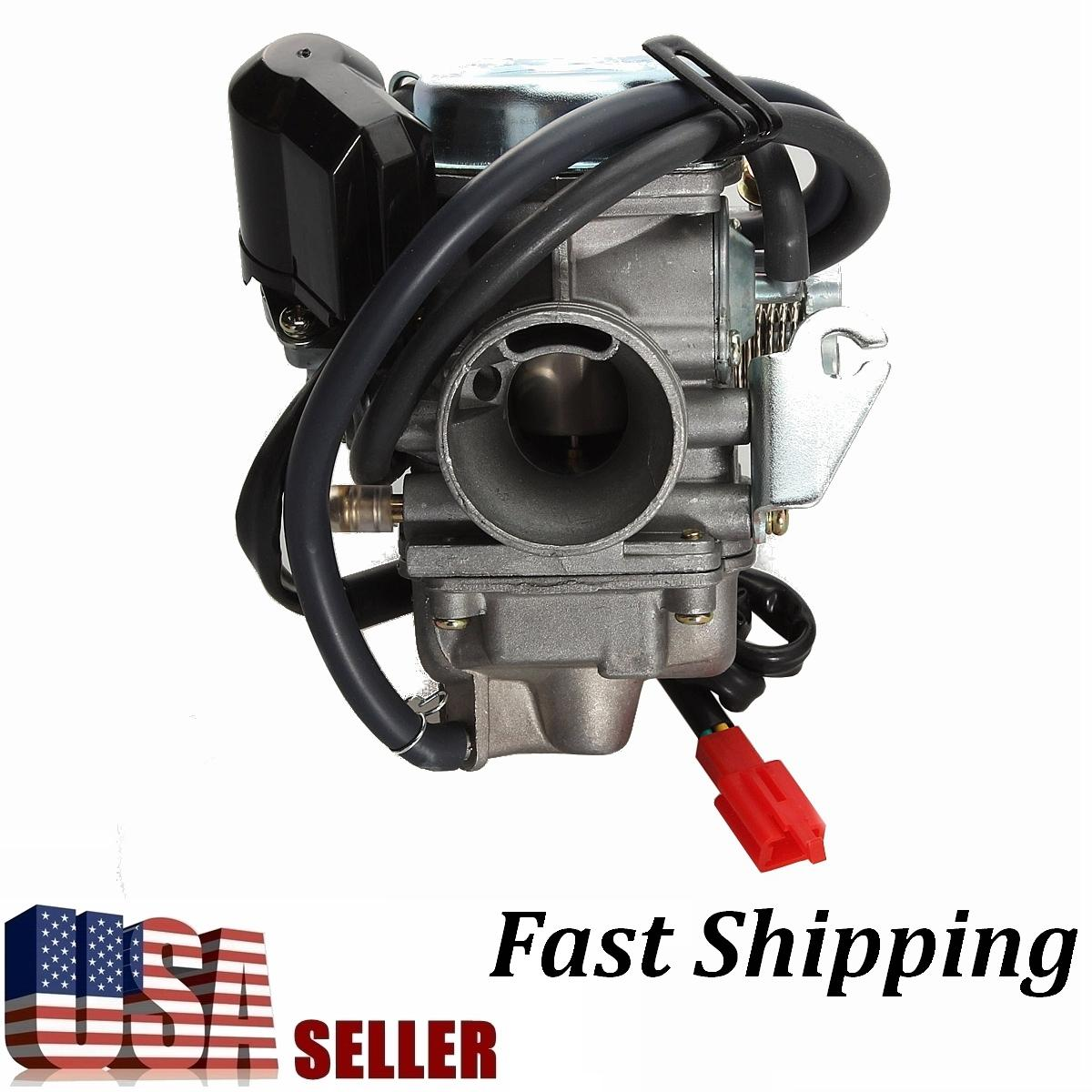 hight resolution of five star store 24mm 4stroke 110 125 150cc carburetor carburettor carb for honda crf50 xr50 gy6