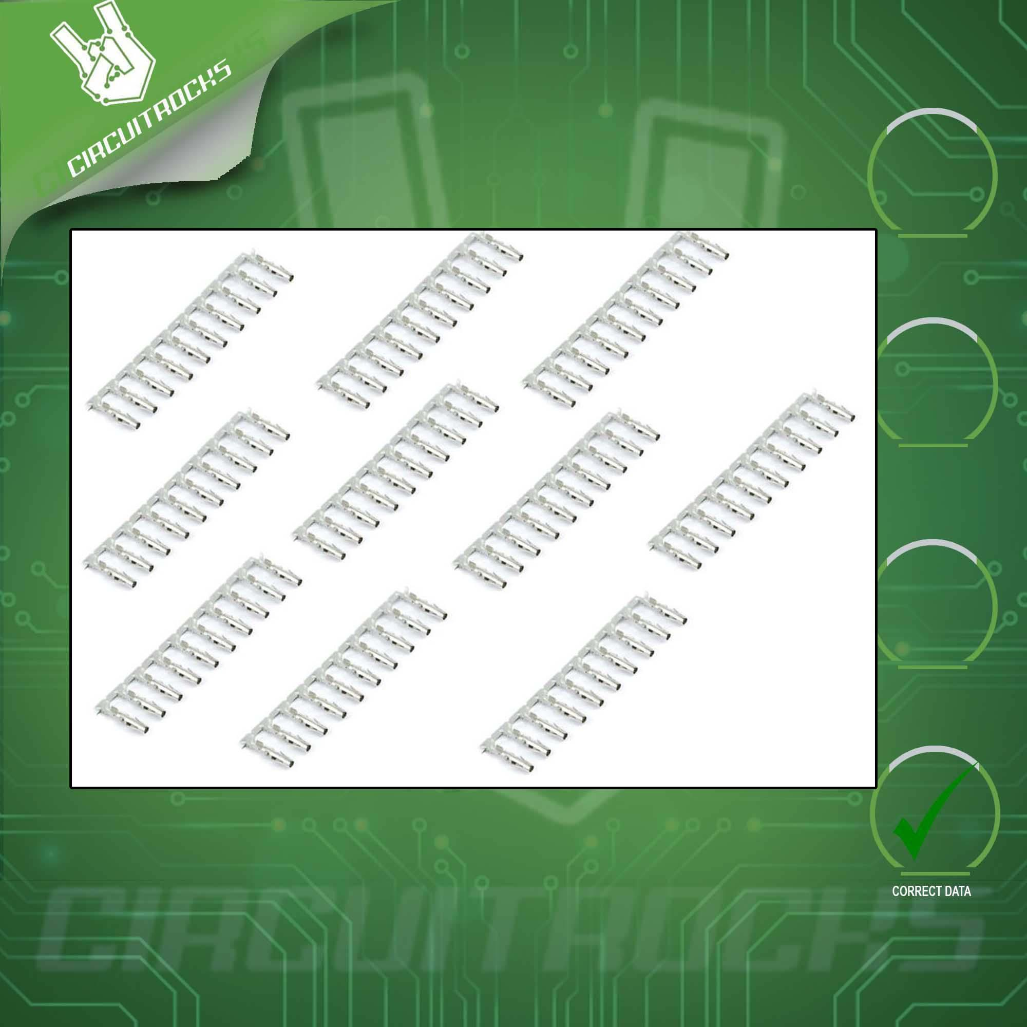hight resolution of crimp pins female for 0 1 dupont housings 100pcs